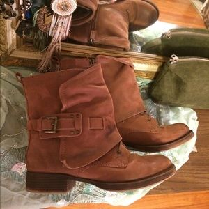 Steve Madden Moto leather boots